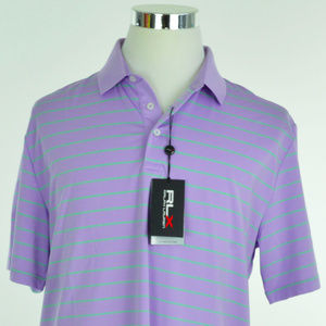 RLX GOLF Ralph Lauren Mens Polo Shirt Sz L Lilac